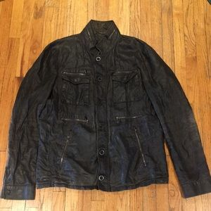 John varvatos vintage look men's jacket sz 50